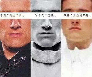 tribute, victor, and peeta image