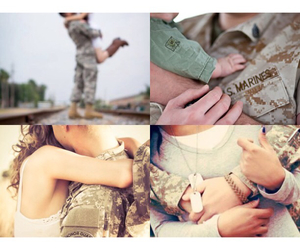 army, love, and cople image