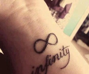infinity and love tattoos image