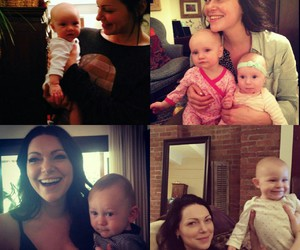 actress, babies, and oitnb image