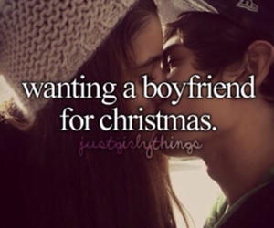 christmas, boyfriend, and love image