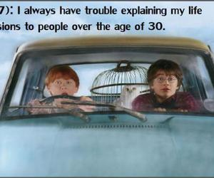decisions, harry potter, and life image