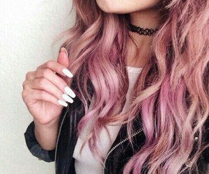 fashion, hipster, and hairdye image