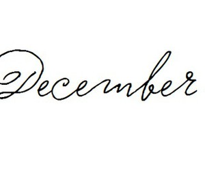 december and month image