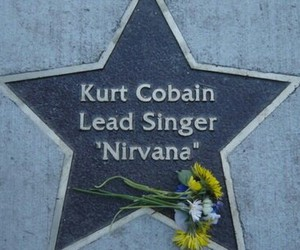 kurt cobain, grunge, and nirvana image