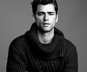 Sean O'Pry, model, and Hot image
