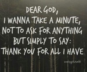 god, thankfulness, and religious quotes image