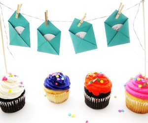 cupcake and Letter image