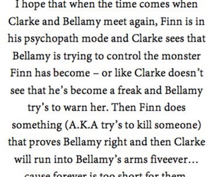 bellamy, otp, and clarke image