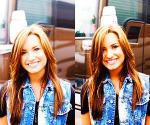 demi lovato, photography, and smile image