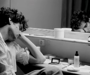 black and white, french, and louis garrel image