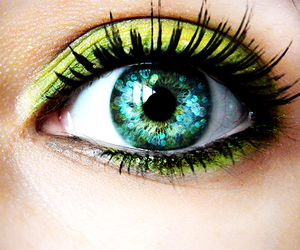 green, beautiful, and eyes image