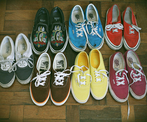 vans, shoes, and vintage image