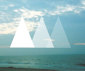 hipster, triangle, and photography image