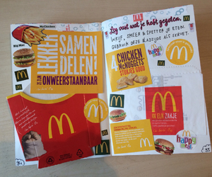 fastfood, mac, and fries image