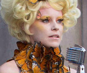 the hunger games and effie trinket image