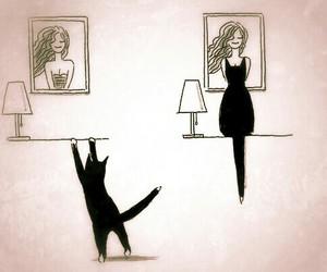 art, brilliant, and cat image