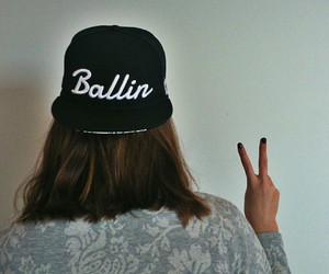 Basketball, cap, and cool image