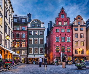 travel, stockholm, and beautiful image