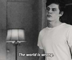world, ahs, and evan peters image