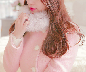 fashion, pink, and kstyle image