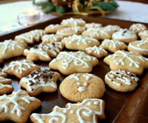 candle, christmas, and Cookies image
