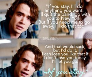 if i stay, adam, and love image