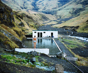 pool, scotland, and swim image