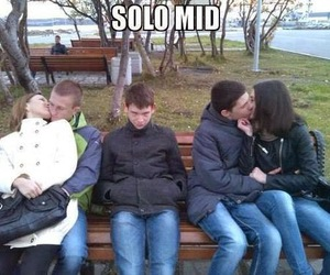 lol, dota 2, and solo mid image