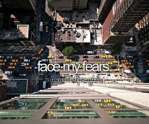 city, fear, and new york image