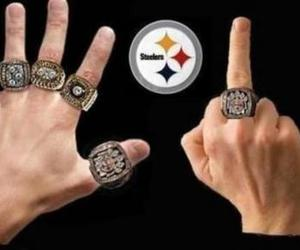 rings, six, and steelers image
