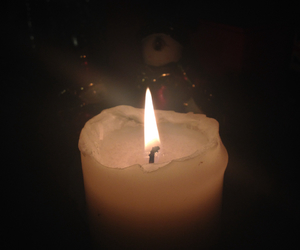 candle, christmas, and cosy image