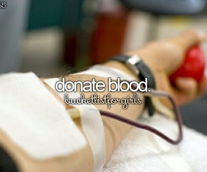blood, bucket list, and before i die image