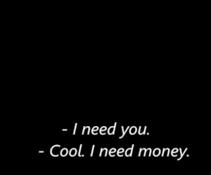 money, cool, and need image