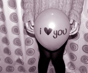 balloon and I Love You image