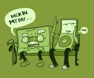 ipod, funny, and music image