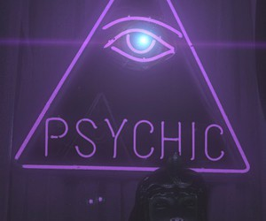 purple, psychic, and grunge image