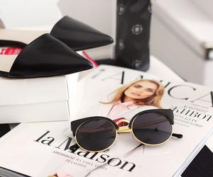 fashion, magazine, and shoes image