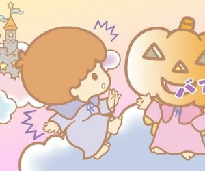 Halloween, sanrio, and kiki&lala image