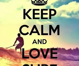 surf, summer, and keep calm image