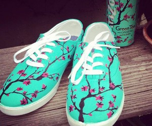 shoes, arizona, and vans image