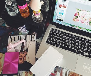 fashion, vogue, and apple image