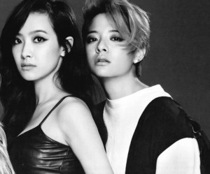 amber, f(x), and couple image