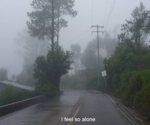 alone, sad, and indie image