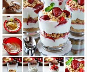 food, diy, and strawberry image