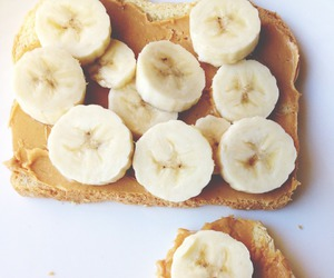 banana, food, and breakfast image