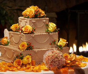 dessert, sweets, and wedding image