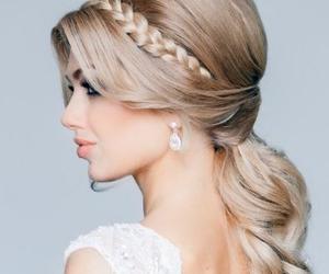 beautiful, braid, and eyes image