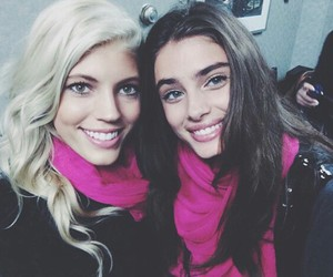 taylor hill, devon windsor, and model image