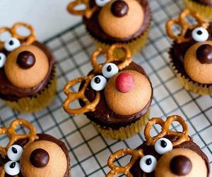chocolate, dessert, and christmas image
